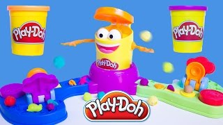 Play Doh Launch Game Play Doh Gob' Fou Zampa Bolas Play-doh Hasbro Toys Review Gumball Machine