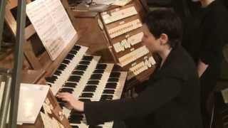 Transports de joie of Olivier Messiaen played by Olena Yuryeva at Nidaros Cathedral.