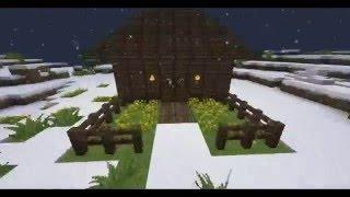Сериал майнкрафт:Зимняя экспедиция...1 серия