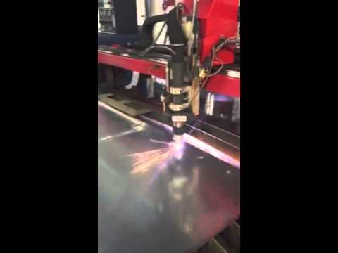 Dynatorch HD Plasma Ultracut 100 6x12 Cutting Table - YouTube