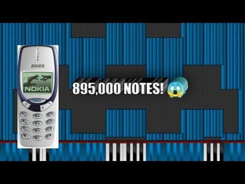 Dark MIDI - Auld Lang Syne Nokia 3310 RINGTONE 895,000 NOTES!