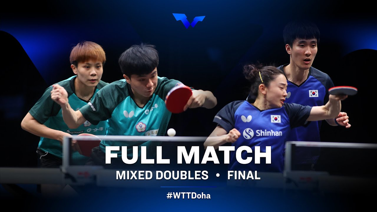 Download Lin Y.J/Cheng I.C vs Lee S.S/Jeon J.H   WTT Star Contender Doha 2021 - March (FULL Match)