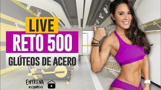 RETO 500 🔥 GLÚTEOS GRANDES Y BONITOS 🍑👌🏼