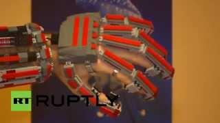 в Сербии создали бионическую руку из LEGO