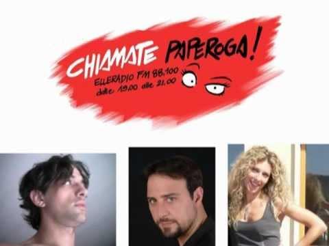 """CORTEGGIAMENTO IN SPIAGGIA - """"Chiamate Paperoga!"""" 21 giugno 2012 (ELLE RADIO)"""