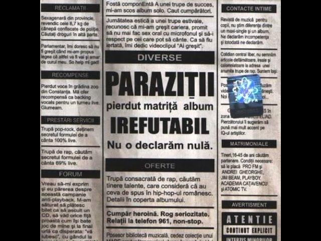 Parazitii la tribunal Parazitii - Antimilitie - Mix Everithing -Video Edit împotriva unui vierme