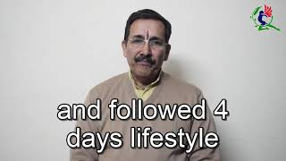 Bedridden Diabetic Patient Cured by Natural Lifestyle Amazing Experience shared by Mr K S Tripathi