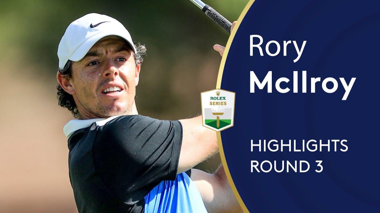 Rory McIlroy shoots 65 in Dubai | Round 3 | 2019 DP World Tour Championship, Dubai