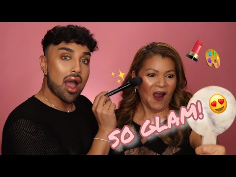 Transforming My Mom For Mother's Day | Mac Daddyy | Angel Merino thumbnail