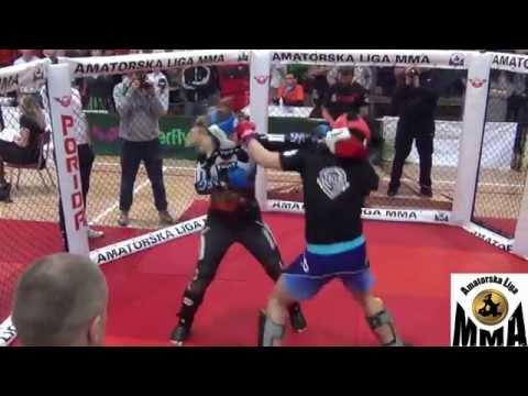 ALMMA 95 MISTRZOSTWA MMA   Gurtowska Marta Vs Gabryluk Joanna