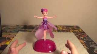 игрушка кукла летающая фея flying fairy. Видео, обзор, отзывы, цена, купить. Понравится вашим детям