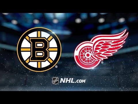 Heinen, Kuraly lead Bruins to 3-2 win against Wings