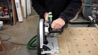 Cutting Repetitive Angles with the Festool TS-75 Circular Saw.mpg