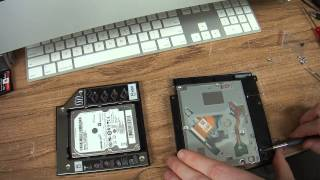 How to add a second hard drive to an iMac replacing a CD Drive