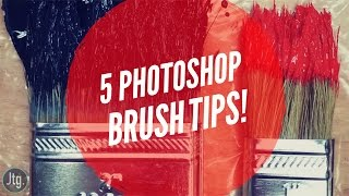 5 Quick Photoshop Tips to help you Master the Brush Tool!