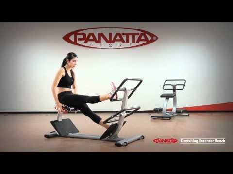 Panatta Sport Stretching Extensor Bench English