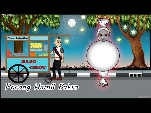 Download Pocong Lapar Makan Bakso - Kartun Hantu Lucu