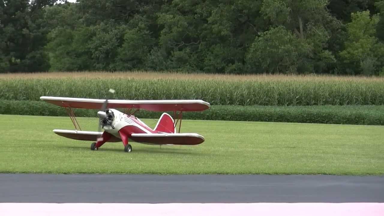 Waco Bi Plane with Radial Engine at NAMFI 2012 SMMAC