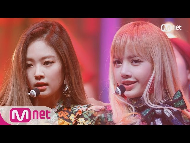 [BLACKPINK - PLAYING WITH FIRE] Comeback Stage   M COUNTDOWN 161110 EP.500