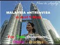 MALAYSIA eNTRI/eVISA in Just 5 Mins ! Fee, Process, Documents, Photo size, Time