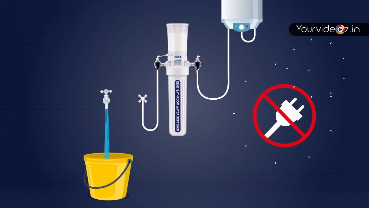 Kent Bathroom Water Softener Youtube