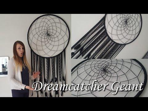 [♥ DIY ♥]  ✿ Attrape rêve GÉANT!!! ✿