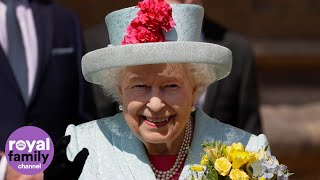 The Queen celebrates 93rd birthday on Easter Sunday