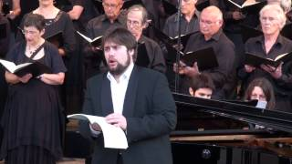 YVAN THIRION baryton / UN REQUIEM ALLEMAND 3° mouvement