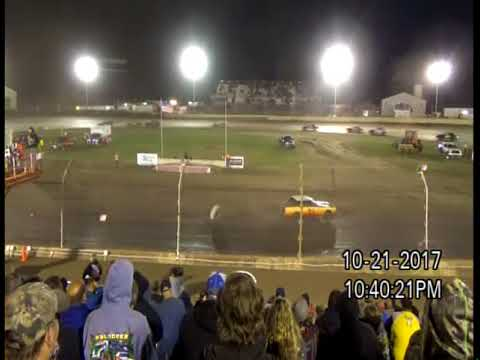 10-21-17 KOKOMO SPEEDWAY, IN  KOKOMO KLASH 11,  STREET STOCK - B FEATURE 1