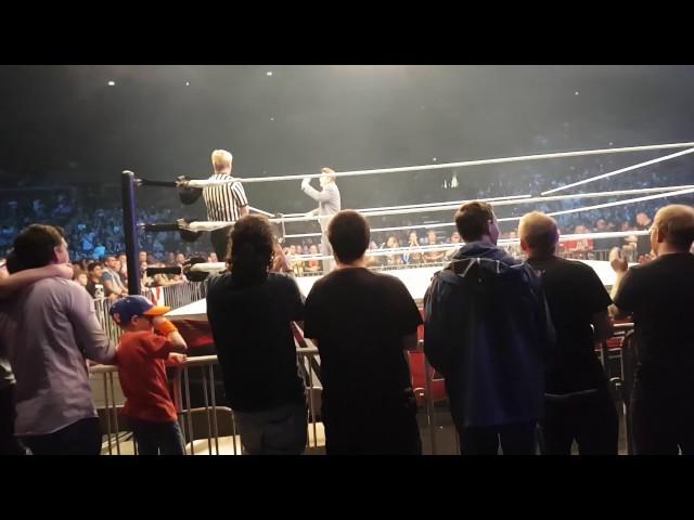 WWE Live Copenhagen entrances Kevin Owens segment + pictures