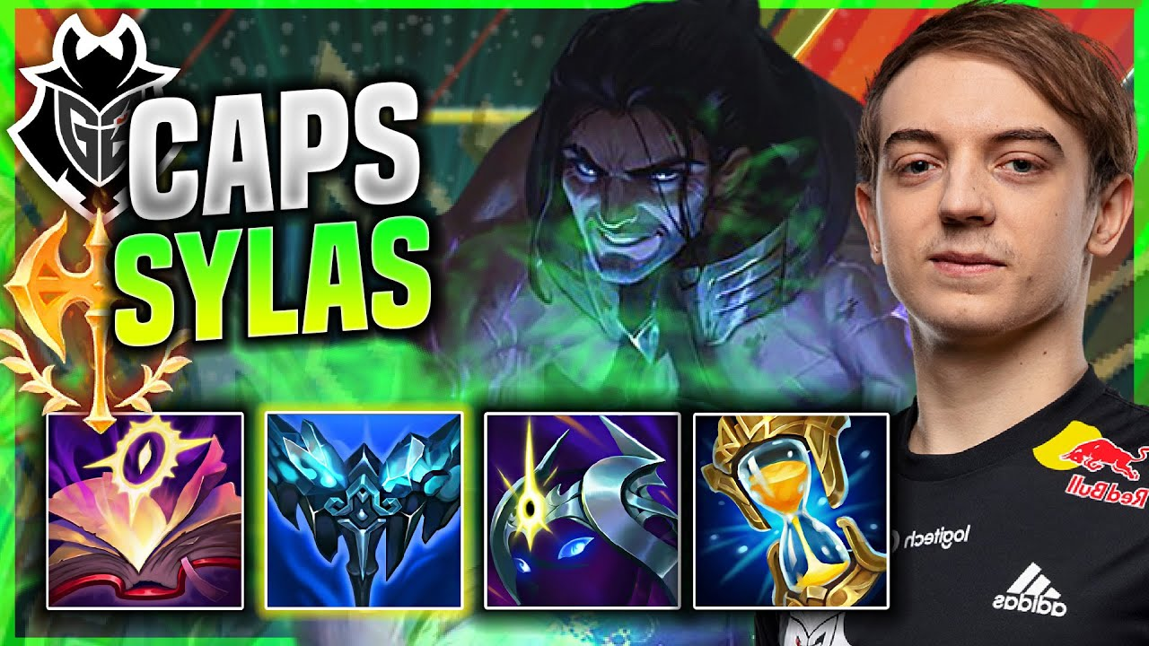 CAPS IS SO CLEAN WITH SYLAS! - G2 Caps Plays Sylas MID vs Zed! | Patch 11.15