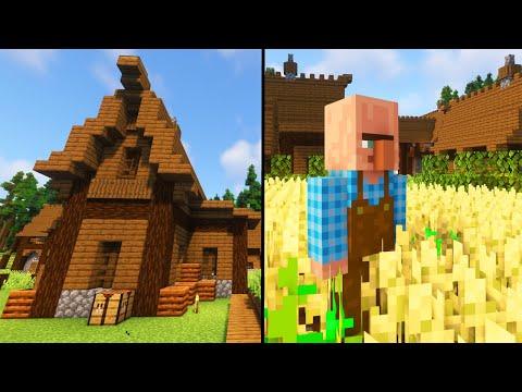 Große Hungersnot! Tiere sterben! Mehr Farmer & Häuser! - Minecraft Tektopia Reloaded #08
