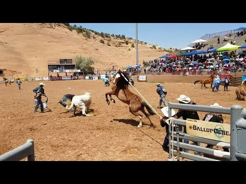 Wild Horse Race 2018 Gallup Ceremonial TEAM HACEESA
