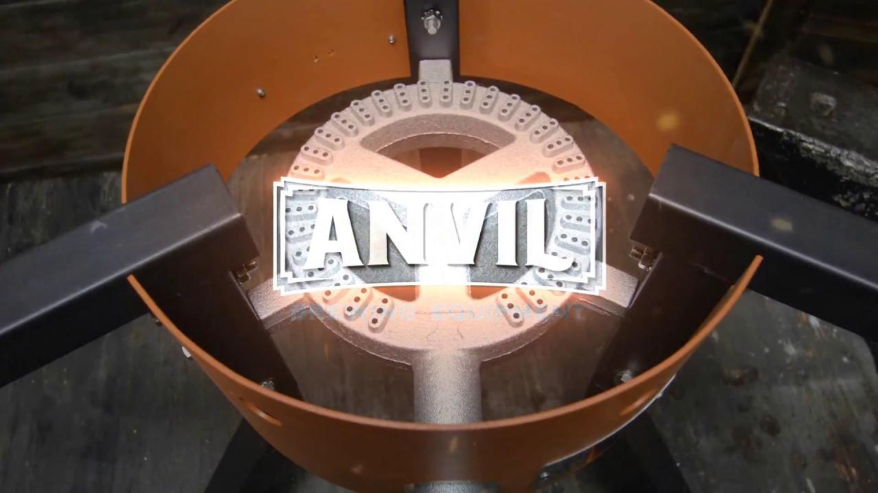ANVIL FORGE BURNER 11 4kw