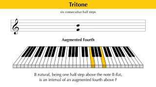 Music Theory Education - Intervals // Diminished And Augmented Intervals (9 of 10)