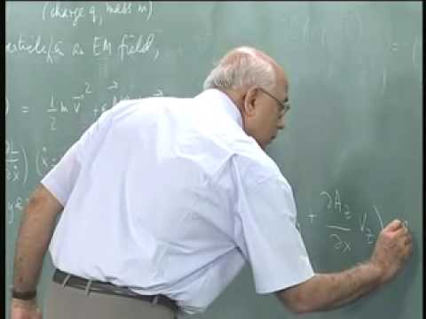Mod-01 Lec-09 Charged particle in an electromagnetic fi