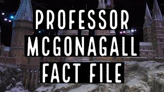 Professor McGonagall Fact File | 5 Facts About Professor McGonagall