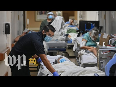 Inside this California hospital, a 'constant battle' against covid-19