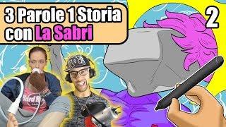 3 PAROLE 1 STORIA - Con LaSabri - SUPAH SAYAN GOD SASSO