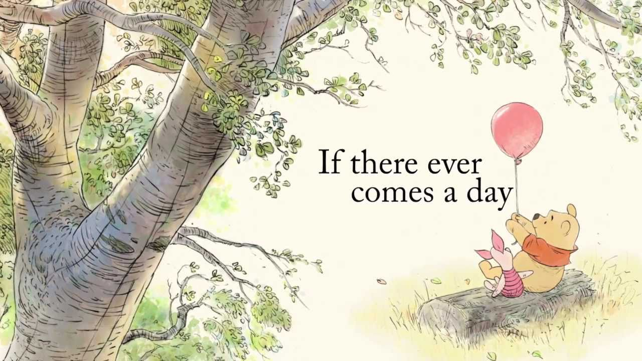 Pooh Quotes About Friendship Winnie The Pooh Thotful Spot  Friendship  Youtube