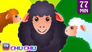Baa Baa Black Sheep and Many More Kids Songs | Popular Nursery Rhymes Collection by ChuChu TV(, 2014-12-14T11:25:48.000Z)