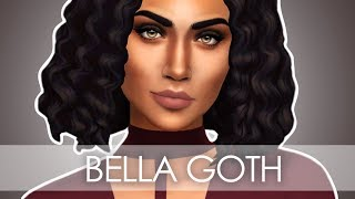 THE SIMS 4 // TOWNIE MAKEOVER // BELLA GOTH