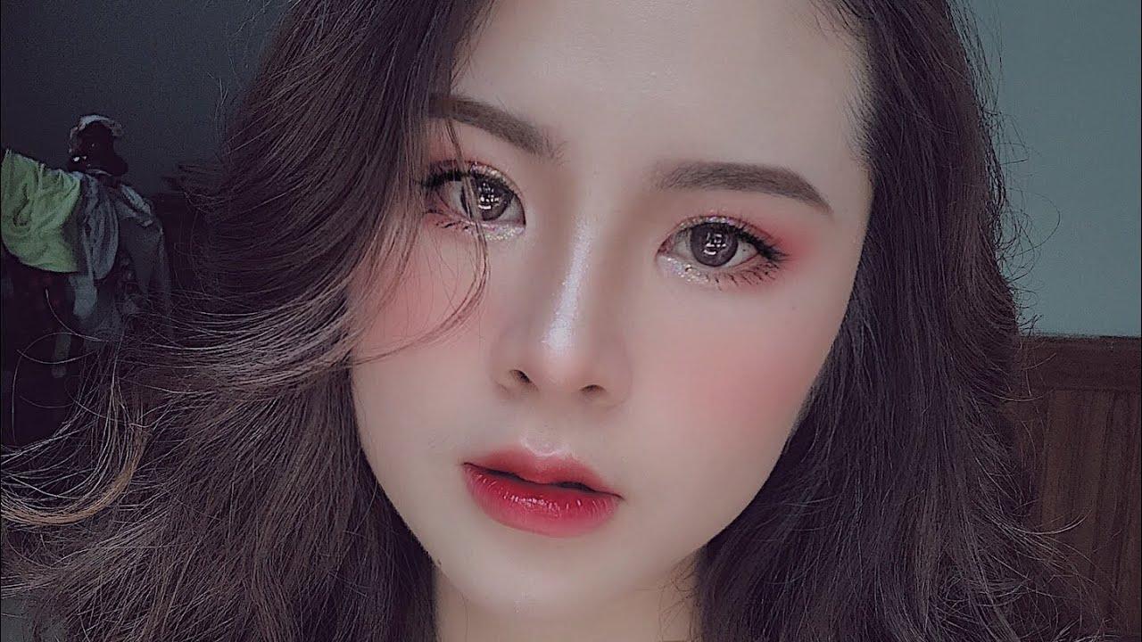 Hướng dẫn Make up tone Hồng ngọt ngào bánh bèo, với hầu hết các sản phẩm dưới 200k 🍒 Oanh Khởi ~~