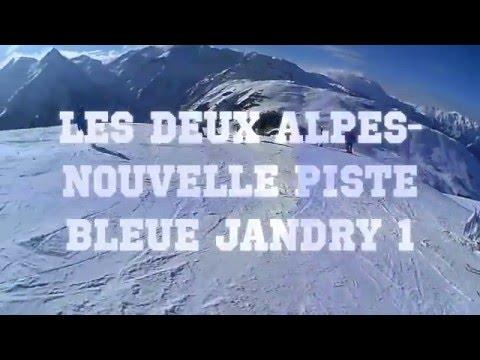Les deux alpes - nouvelle piste bleue jandry 1