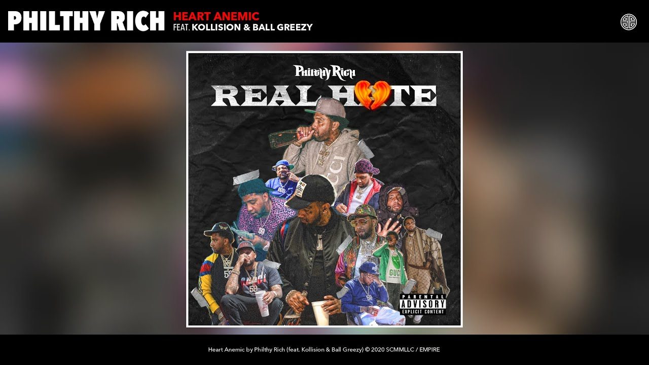 Philthy Rich - Heart Anemic (Audio) (feat. Kollision & Ball Greezy)