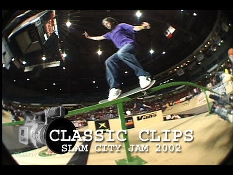 Vancouver Slam City Jam 2002 Skateboard Contest Classic Events #9 Mike Vallely