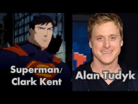 Characters and Voice Actors - Justice League: War