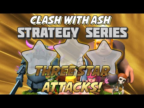 Clash Of Clans | Two Noteworthy 3 Star Attacks at TH10 (ZAP QUAKE & GOWIPE)