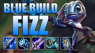 BLUE BUILD FIZZ TOP - League of Legends