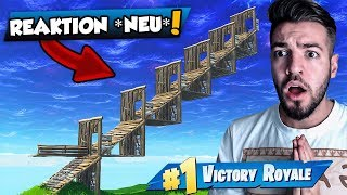 Reaktion auf *EPIC TRICK* Neue METHODE um GEGNER zu PUSHEN in Fortnite Battle Royale